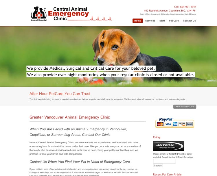 Central Animal Emergency Clinic